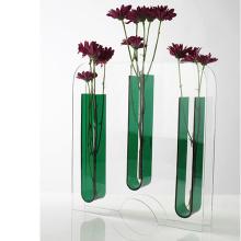 Indicador de vasos de plástico de acrílico Clear Clear Clear