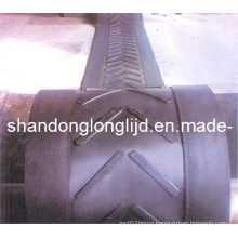 Big Angle Patterned Conveyor Belts
