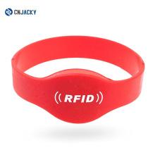 Supplier of Combi RFID Silicone Wristband / Bracelet / Hubei