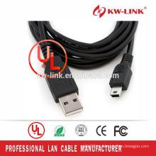 Дешевые Цена Горячие Продажа Тип Мини 5PIN USB кабель для передачи данных кабель для зарядного устройства