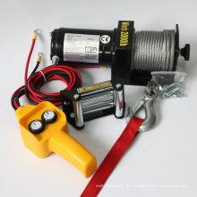 CE genehmigte 2000LB SUV / Jeep / LKW 4WD Winde / elektrische Winde / Selbstwinde / elektrische LKW-Winde