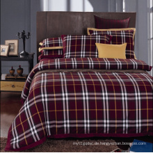 Schottland Plaid Flanell Schlafzimmer Set # Ms120405