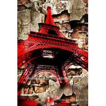 Effet spécial de fête spéciale Tour Eiffel Toiles sur toile Décoration murale