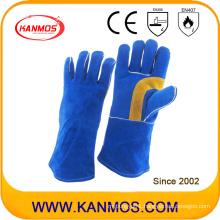 Genuine Cowhide Leather Industrial Safety Welding Work Gloves (11110)