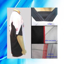 100% Polyester Man′s Short Sleeve Motorcycle Jersey