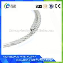Cable de acero 6x7 1/16