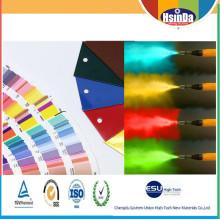 Prix favorable Antipollution Revêtement en poudre décorative multicolore mate