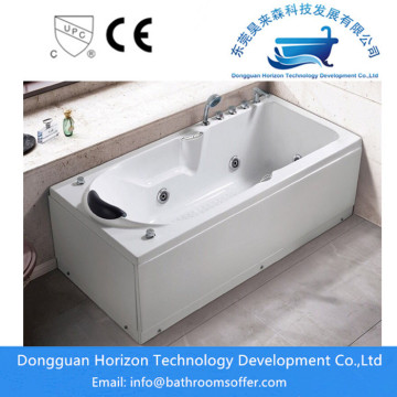 Bathtub Pijat One-Piece Acrylic Freestanding