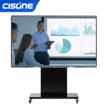 Black Frame Lcd Tv Big Size 86 Inch All In One Business PC White Board For Schools Interactive Screen Touch Digital School Board