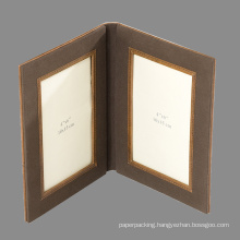 Folding Fabric Photo Picture Frame