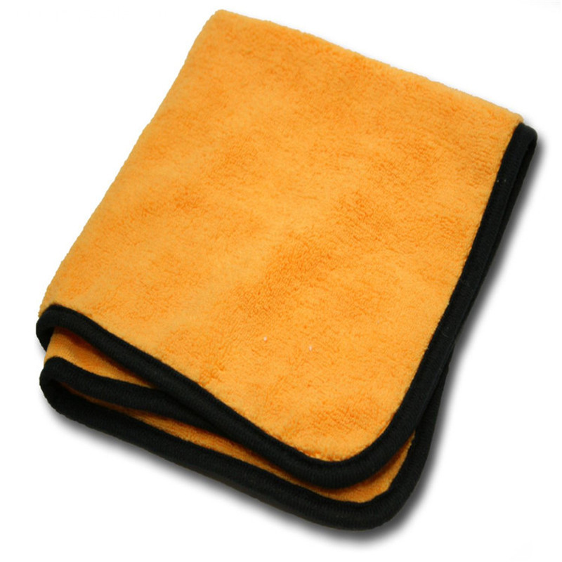 400GSM OEM Logo Promotional Microfiber Car Wash Towel