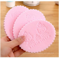 Cartoon Exquisite Pearl Face Puff, Sponge Facial Cleaning Powder Puff