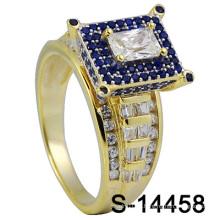 Nouveau design Micro Pave Men Ring (S-14458)