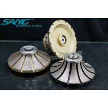 Fabrication de roues à profil diamant en Chine (SA-046)