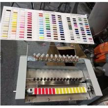 Máquina de tarjetas de color de hilo