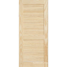 Sustainable Pine Plantation Louver Panel Door