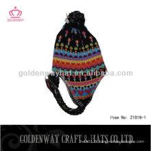 Chapeaux d'hiver pour enfants tricotés