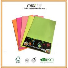 Papier couleur fluorescent A4