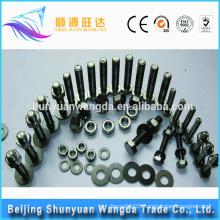 Non-standard molybdenum washer/bolt/nut/screw