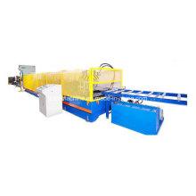 Quadros de aço automáticos com pré-perfuração laminados a frio formando máquina