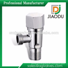 cw617n chrome or nickel plated brass plumbing angle valve with steel handle