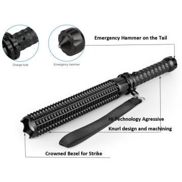 UV Taschenlampe wiederaufladbar mit Emergency Hammer