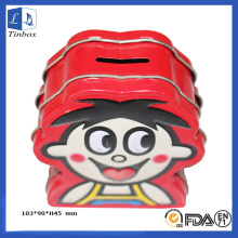 Cartoon Printing Saving Tin Box