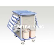 B-105 ABS Medicine Delivery Trolley