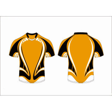 Customized Design Sublimation Rugby-Trikot