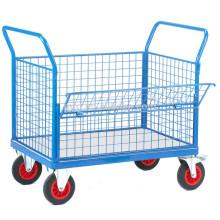 Deflect Heavy-Duty Platform Carts, Trolley Hand Truck, Heavy Duty Platform Trolley with Pneumatic wheels (500kg)