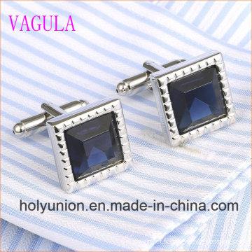 VAGULA Gemelos Men Chemise française Diamond Cuff Links 339