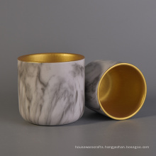 Ceramic Candle Holder with Hydrographics Transfer Printing