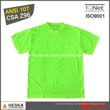 Wholesale Cheap Mens Classic Safety Wwork T Shirt