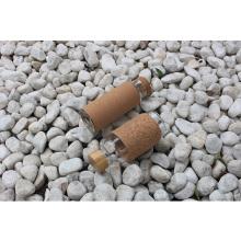 Glass Water Bottle with cork sleeve Travel Drinkware Portable Bottle Transparent Bottle for Water Tea