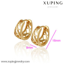 (29788)Xuping Jewelry Fashion 18K Gold Plated Gold Earring For Woman