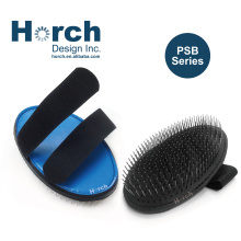 Flexible Pet Bath Tool Dog Hair Shower  and smooth Palm Brush with metal pin Material