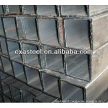 black rectangular steel tube/pipe