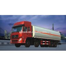 8X4 drive Dongfeng camión de combustible / tanque de combustible camión / camión de aceite / tanque de aceite camión / camión tanque líquido / camión tanque químico / petrolero