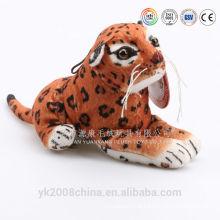 Adorável zoo animais leopardo brinquedos pelúcia pantera