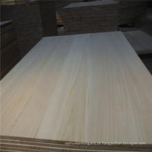 Ab Grau Paulownia madeira serrada branca