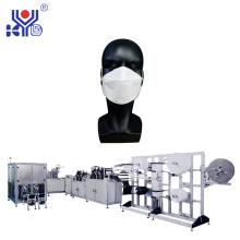 Machine automatique de masque de poisson 1 + 1 avec ligne d'emballage
