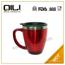 14oz double wall auto water mug with handle
