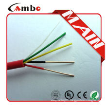 Security 4C*0.22mm2 Copper 4 core cable wire china manufacturer best price with best quality