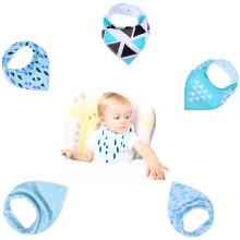 Babadores de bebê de alta qualidade baba bandana moda babadores do bebê personalizado