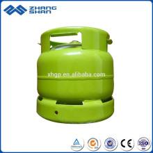 6KG Bharat Erdgasflasche LPG-Flasche mit wettbewerbsfähigem Preis
