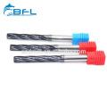BFL Carbide Fresa CNC Spiral Flute Reamers