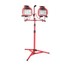 1200 Watt Halogen 2-N-1 Twin Head Tripod Work Light (CGC-WL19)