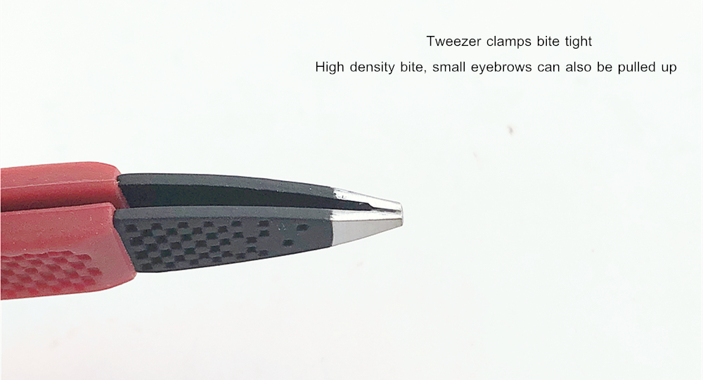 Tweezers With Rubber Grip
