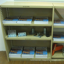 steel post light duty shelf