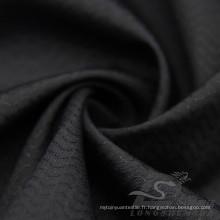 Imperméable à l'eau et à l'extérieur Vêtements de sport en plein air Veste en bas Woven Wave Jacquard 100% Polyester Pongee Fabric (E049)